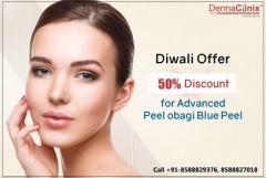Get 50% Discount on Peel Obagi Blue Peel at DermaClinix, Delhi NCR