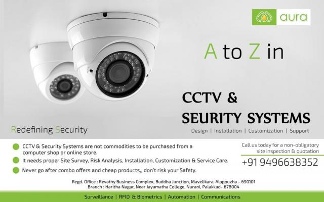 CCTV Installation and Care - Aura Business Solutions