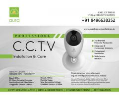 Aura-No.1 CCTV, Security System Installation and Care across Kerala