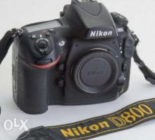 Nikon D 800 body in excellent condition