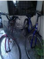 Two bicycle for sale in excellent condition.