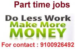 We suggest the way to earn money by part time job