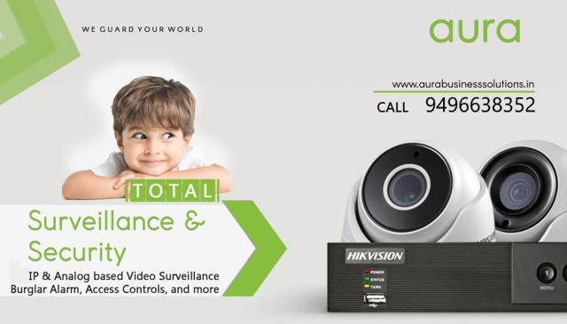 Total Security, CCTV Solutions - AURA BUSINESS SOLUTIONS, Palakkad
