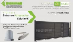 Aura Business Solutions-Remote Controlled Gates-CCTV-Security Systems
