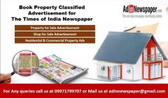Property Newspaper Ads in Delhi
