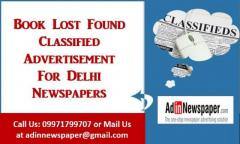 Certificate Lost Newspaper Advertisement