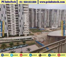 3 bhk flats by jlpl falcon view at Mohali near airport road 95O1O318OO