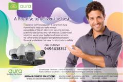 CCTV Coimbatore - Aura Business Solutions - CCTV Camera Coimbatore