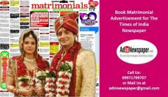 Times of India Matrimonial Classified Ad Booking Online