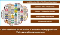 Tribune Education Classified Advertisement
