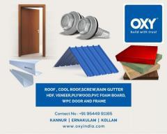 Oxy Cool Roofs Ernakulam Thrissur Palakkad Malappuram Caclicut Kannur Kasaragod