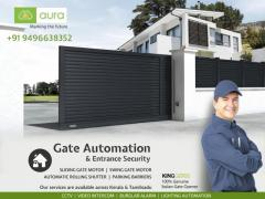 Automatic Gate Opener Kozhikode - Aura Business Solutions