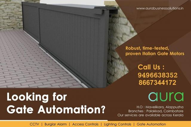 Aura Business Solutions Automatic Gate Dealers Palakkad