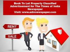 Get Times of India Rent Property Classified Advertisement