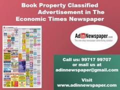 The Economic Times Property Classified Advertisement Rates