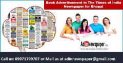 Times of India Bhopal Classified Advertisement Rates