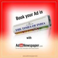 The Times of India Classified Ad Booking Online