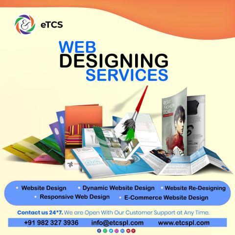Website Design Pricing, Web Development Packages India – eTCS